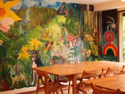 Dining Mural